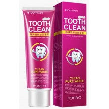 Отбеливающая зубная паста Rorec Tooth Clean со вкусом клюквы