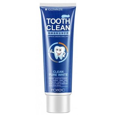 Отбеливающая зубная паста Rorec Tooth Clean со вкусом ментола