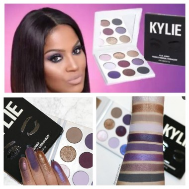 ПАЛЕТКА ТЕНЕЙ PURPLE PALETTE KYSHADOW ОТ KYLIE COSMETICS