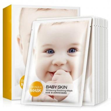 BioAqua Mask Baby Skin осветляющая тканевая маска
