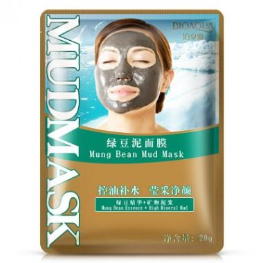 Очищающая грязевая маска с бобами Мунг BioAqua Mung Bean Mud Mask