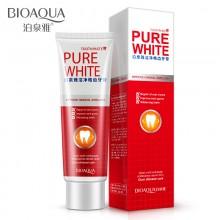 Отбеливающая зубная паста Pure White от Bioaqua, 120 гр