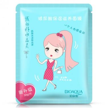 Увлажняющая тканевая маска для лица BIOAQUA PINK GIRL