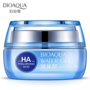 "крем для лица ""Гиалуроновый"" BioAqua Water Get Hyaluronic Acid Cream"