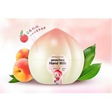 Увлажняющий крем для рук с экстрактом медового персика Bioaqua Peaches Hand Cream