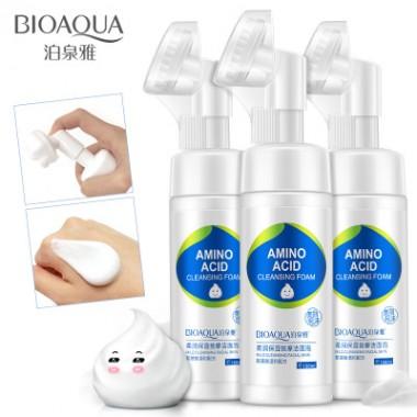 Пенка для умывания с аминокислотами Bioaqua