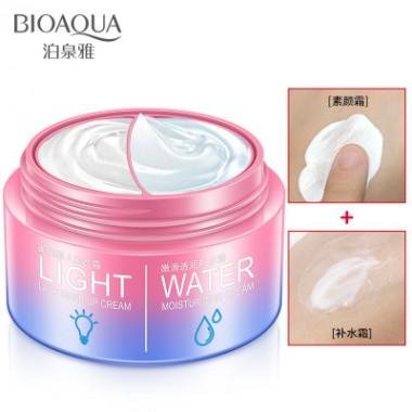 Двойной крем для ухода: увлажнение и тон, 50+50 г BIOAQUA Light&Water