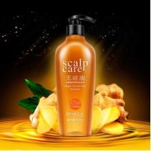 Разглоаживающий шампунь для волос с экстрактом имбиря Bioaqua 300 мл.