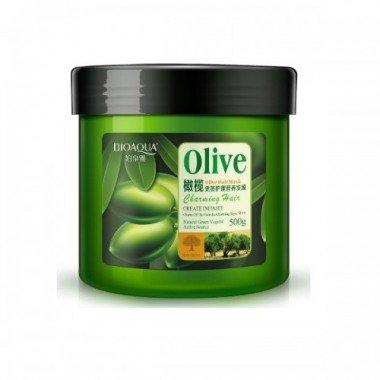BIOAQUA Olive Маска для волос с маслом оливы, 500 мл