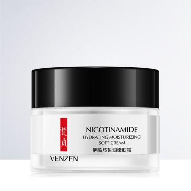 VENZEN Крем для лица с никотинамидом Nicotinamide Hydrating Moisturizing Soft Cream 50 гр