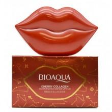 Bioaqua Гидрогелевые патчи для губ с экстрактом цветков Сакуры Cherry Collagen 20 шт