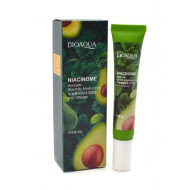 Крем для век против мимических морщин 20гр BIOAQUA Niacinome Avocado Eye Cream