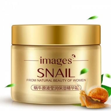 Увлажняющий крем для лица с муцином улитки Images Snail Cream