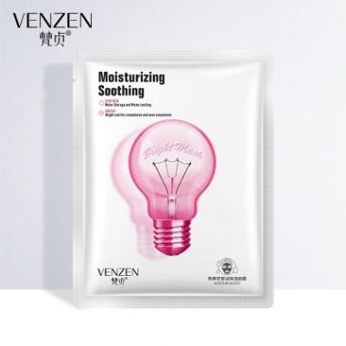 Тканевая маска для лица Venzen Moisturizing Sooting увлажняющая, сужающая поры