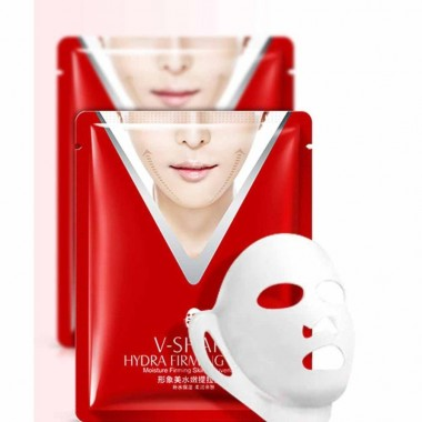 Маска для упругости и подтяжки овала лица Images V-Shape Hydra Firming Mask