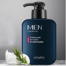 Мужская очищающая пенка для умывания Venzen Men's oil control cleanser