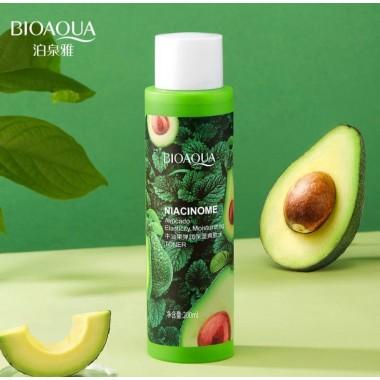 Bioaqua Увлажняющий тонер с экстрактом авокадо Niacinome Avocado Elasticity 200мл.