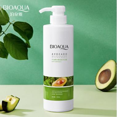 Увлажняющий гель для душа Bioaqua Avocado Moisturizing Shower Gel, 500 мл.