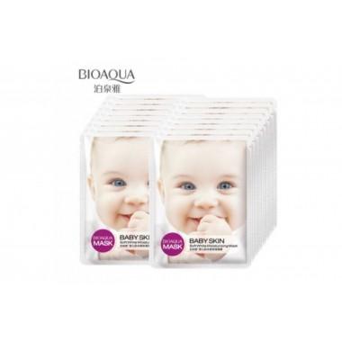 Освежающая маска для упругости кожи (с коллагеном)BioAqua Mask Baby Skin Fresh