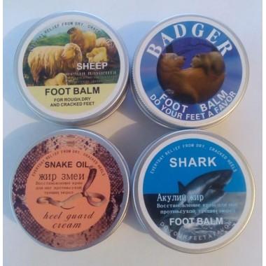 Крем для пяток Змеиный, Акулий, Овечий  (Heel Guard Cream) 80 гр.
