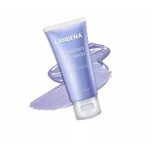 Lanbena Blueberry Clay Face Mask Увлажняющая маска для лица черника с Anti-Aging эффектом 50 гр