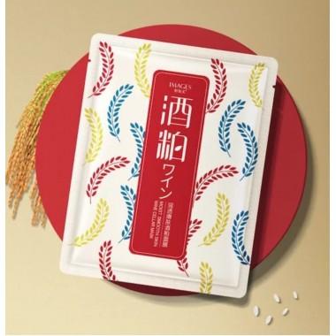 Тканевая маска c экстрактом риса и вина Images Wine Cellar Mask