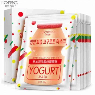 Увлажняющая маска rorec Yogurt