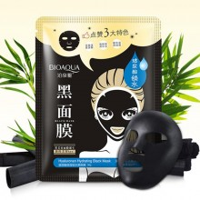 Маска для лица black mask bioaqua Hyaluronan Hydrating  BioAqua