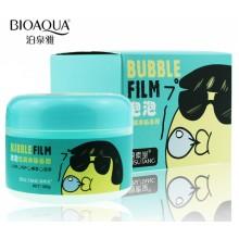 Кислородно-пенная маска для очищения лица bubble film bisutang
