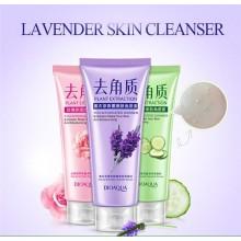 ОЧИЩАЮЩАЯ СКАТКА Bioaqua Lavender Skin Cleanser